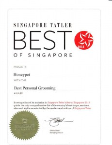 Honeypot waxing salon award